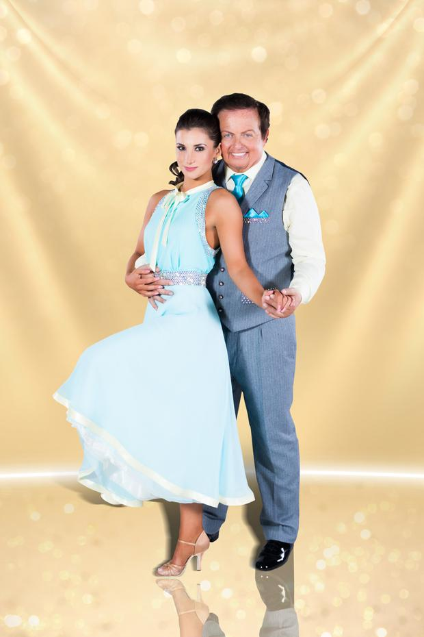 Putting on the ritz: Marty Morrissey and Ksenia Zsikhotska