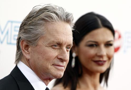 Michael Douglas denies shocking allegations
