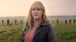 Class act: Sarah Lancashire steals the show in new drama Kiri