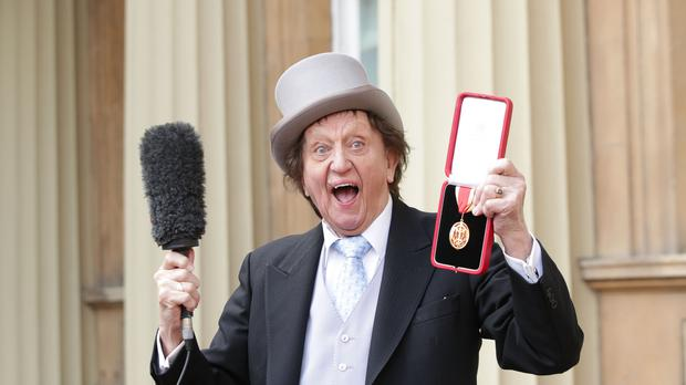 Veteran entertainer Sir Ken Dodd (Yui Mok/PA)