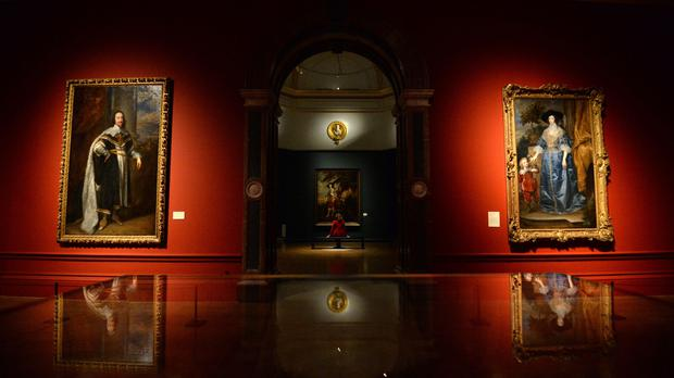 Charles I: King And Collector exhibition at the Royal Academy of Arts (Kirsty O'Connor/PA)