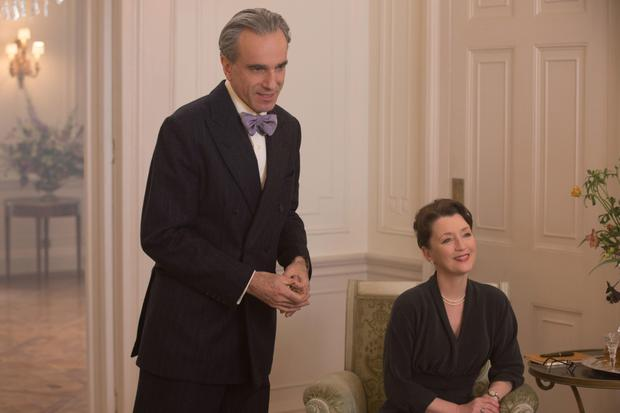 Daniel Day-Lewis and Lesley Manville in Phantom Thread