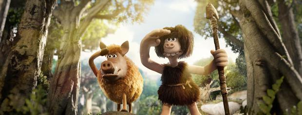 Early promise: Aardman's Early Man has some great moments but doesn't come close to previous productions