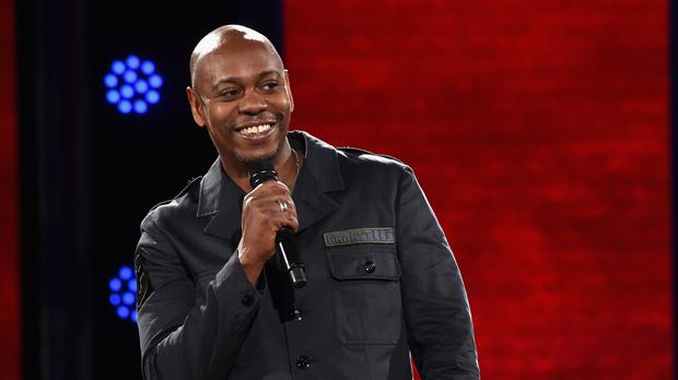Dave Chappelle and Jon Stewart will perform at the 3Arena in October (Lester Cohen/Netflix)