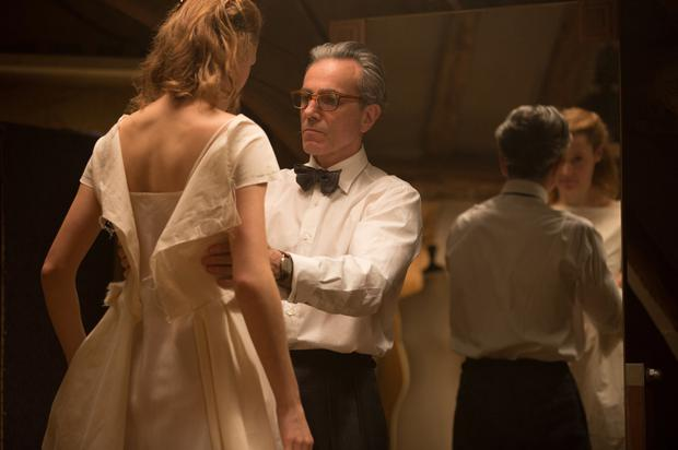 Tailor-made for role: Daniel Day-Lewis learned how to sew and make dresses for his portrayal of Reynolds Woodstock in Phantom Thread