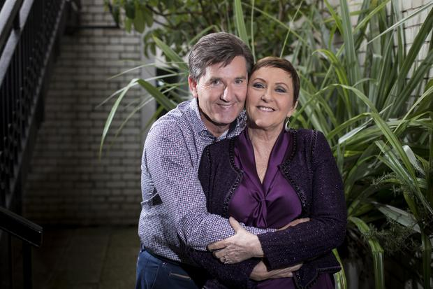 Daniel and Majella O'Donnell Photo: Mark Condren