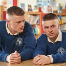 Chris Walley (left) and Alex Murphy in The Young Offenders TV series Picture: Miki Barlok