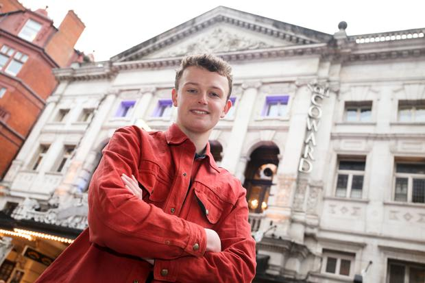 Rising star: Chris Walley lives and studies drama in London. Photo: Gerry McManus