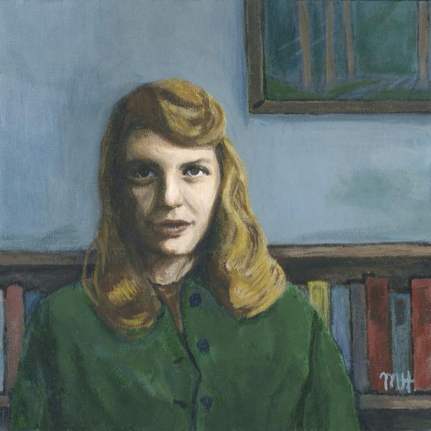 Sylvia Plath by Melinda Hagman