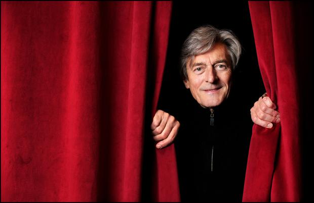 Actor Nigel Havers at The Gaiety Theatre where he will perform in the comedy 'ART'. Photo: Steve Humphreys
