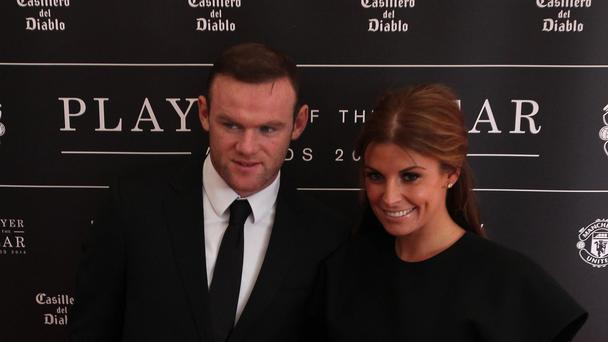 Wayne and Coleen Rooney (Lynne Cameron/PA)