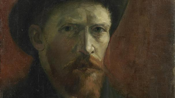 Self-portrait With Felt Hat, 1887 (Van Gogh Museum, Amsterdam/ Vincent van Gogh Foundation)