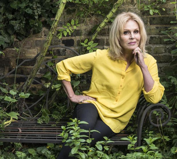 Everything's gone green: Joanna Lumley