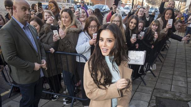 Cheryl arriving ahead of the opening of the new Prince's Trust and Cheryl's Trust centre in Newcastle (Danny Lawson/PA)