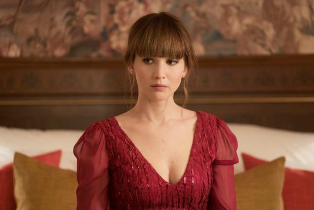 Flying form: Jennifer Lawrence puts enough mystique into her character to keep things interesting in Red Sparrow