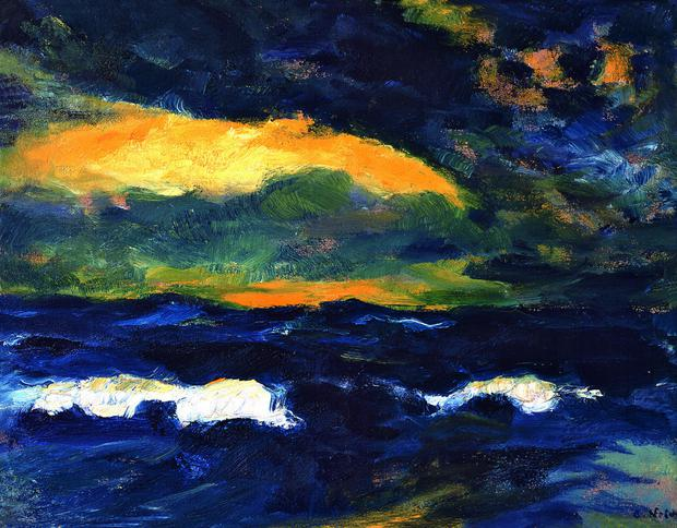 Light Breaking Through by Emil Nolde