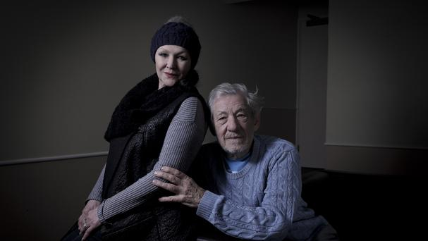 Sir Ian and Frances Barber (BBC/Trishia Yourkevich/PA)
