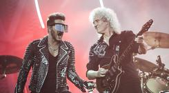 Queen and Adam Lambert performed at the Isle of Wight in 2016 (David Jensen/PA)