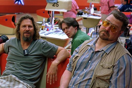 Pin kings: Jeff Bridges, Steve Buscemi and John Goodman in The Big Lebowski
