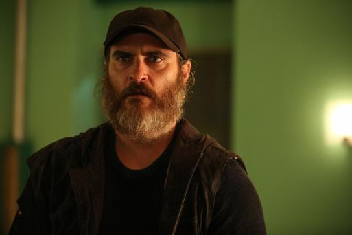 Hammer time: Joaquin Phoenix is superb in You Were Never Really Here