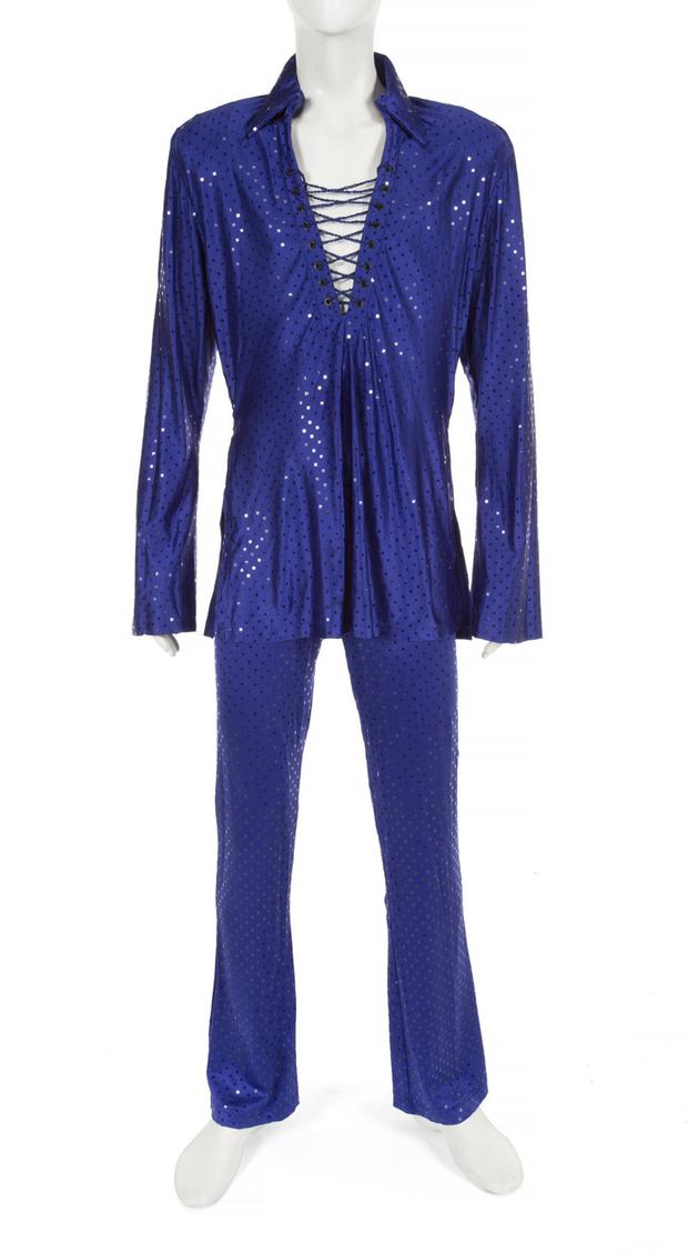 Prince's electric blue outfit from Paisley Park in 1999