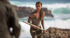 Welcome to the jungle: Alicia Vikander's Lara finds herself in a lot of precarious situations while searching for her dad