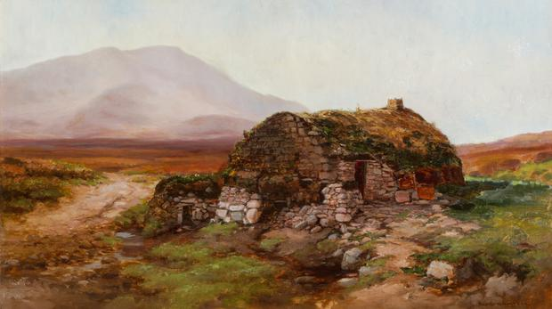 Cottage, Achill Island by Alexander Williams