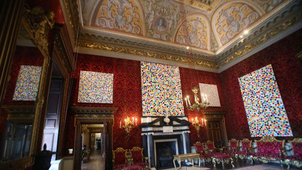 Damien Hirst exhibition at Houghton Hall