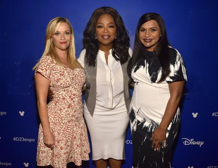 Oprah Winfrey, Reese Witherspoon and Mindy Kaling stars in a 'Wrinkle in Time'