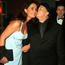 Rocca and roll: Van kisses Michelle at the Irish Music Records Awards in 1995