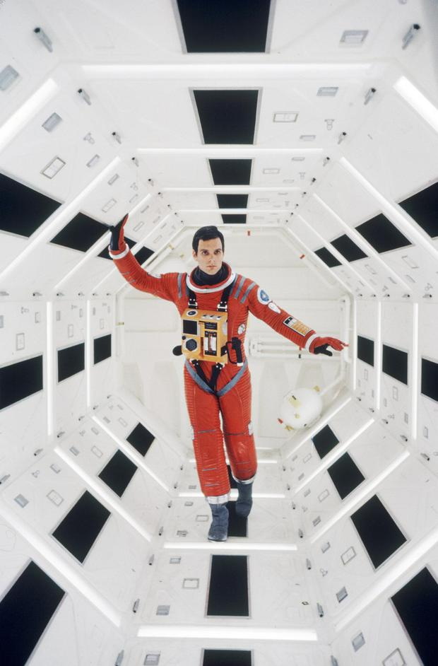 A largely wordless epic: 2001: A Space Odyssey
