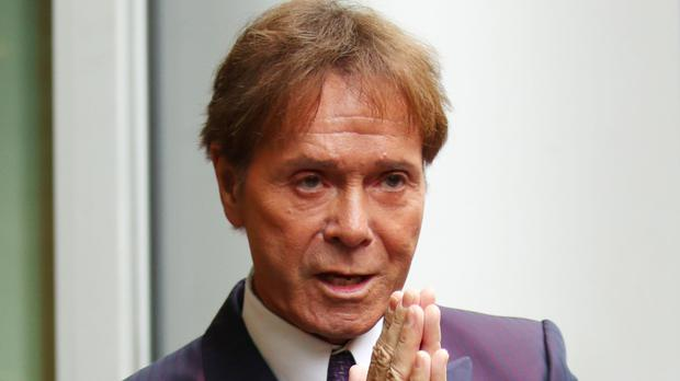 Sir Cliff Richard arrives at the Rolls Building in London (Yui Mok/PA)