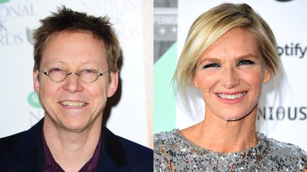 Simon Mayo and Jo Whiley (PA)