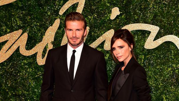 Victoria Beckham has thanked David for her 'special' birthday (Ian West/PA)