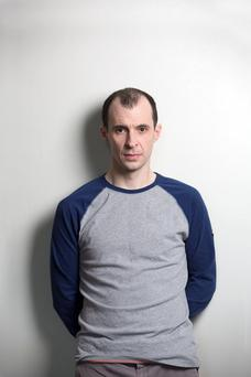 Intensity: Vaughan-Lawlor's next role is in Irish horror The Cured. Photo: Clare Keogh