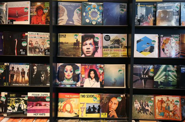 Not music to their ears: some retailers say they fear the resurgence in vinyl is too niche to sustain them. Photo: Damien Eagers