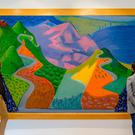 Pacific Coast Highway And Santa Monica (David Hockney)