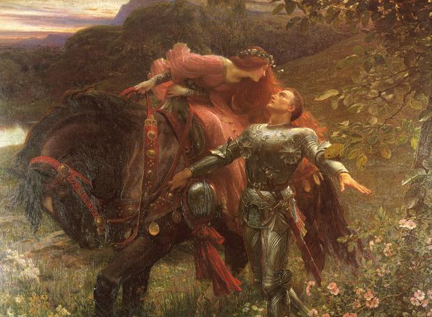 La Belle Dame sans Merci by Sir Frank Dicksee
