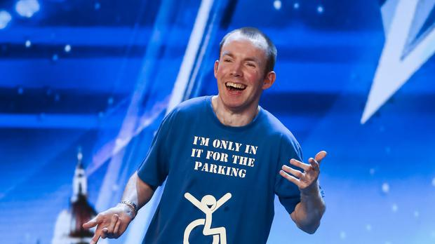 Lee Ridley has won a spot at The Royal Variety Performance (Tom Dymond/Syco/Thames)