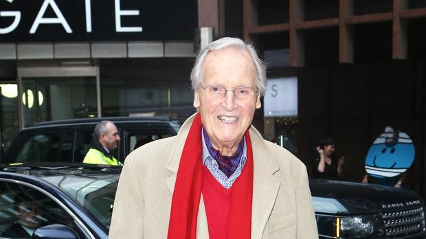 Nicholas Parsons was absent from Monday night's instalment (Phil Toscano/PA)