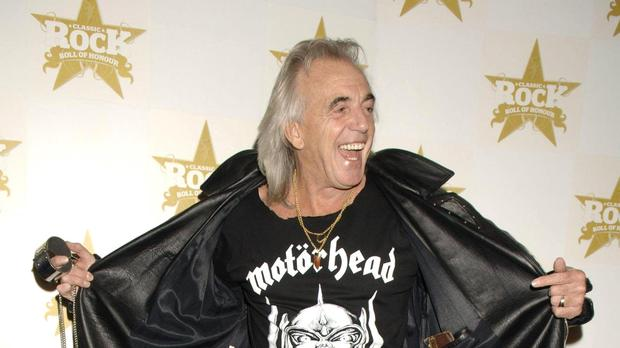 Tributes have been paid to 'full of fun' and 'warm' Peter Stringfellow (Yui Mok/PA)