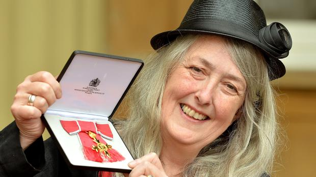 Mary Beard is already an OBE (John Stillwell/PA)