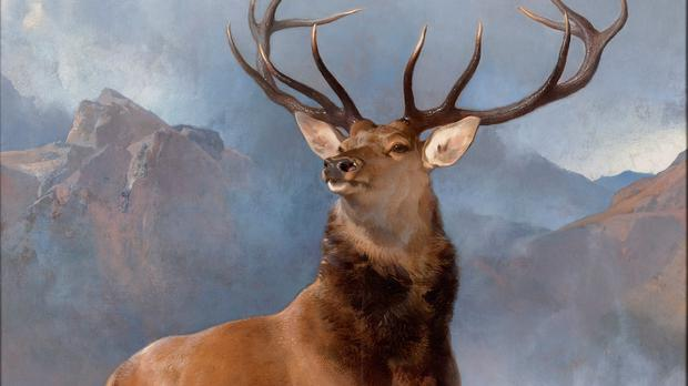 Edwin Landseer's The Monarch Of The Glen (National Galleries of Scotland)