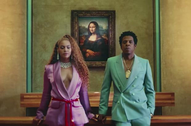 Art Lourve-rs: Beyoncé and Jay-Z filmed their new single in the French museum