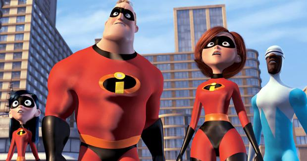 On the sidelines: The sequel charts Helen making a return as Elastigirl while Mr Incredible copes with being a stay-at-home dad