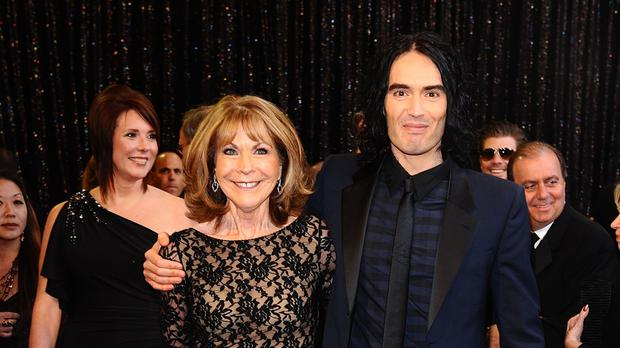 Russell Brand thanks doctor for saving his mum's life as stars celebrate the NHS (Ian West/PA)