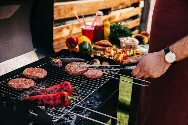 The artful dodger: Start the barbeque early so you can break away to watch Josip Pivaric and co play France in the World Cup Final