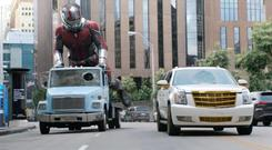Ant-Man does his 'Giant-Man' thing