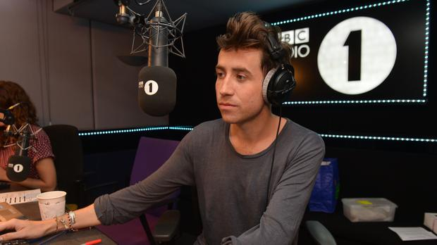Nick Grimshaw presenting the Radio 1 Breakfast Show (Mark Allen/BBC/PA)
