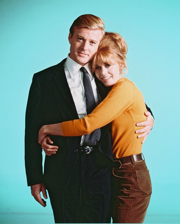 Redford and Jane Fonda in Barefoot In The Park